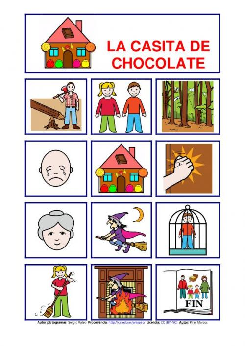 La casita de chocolate