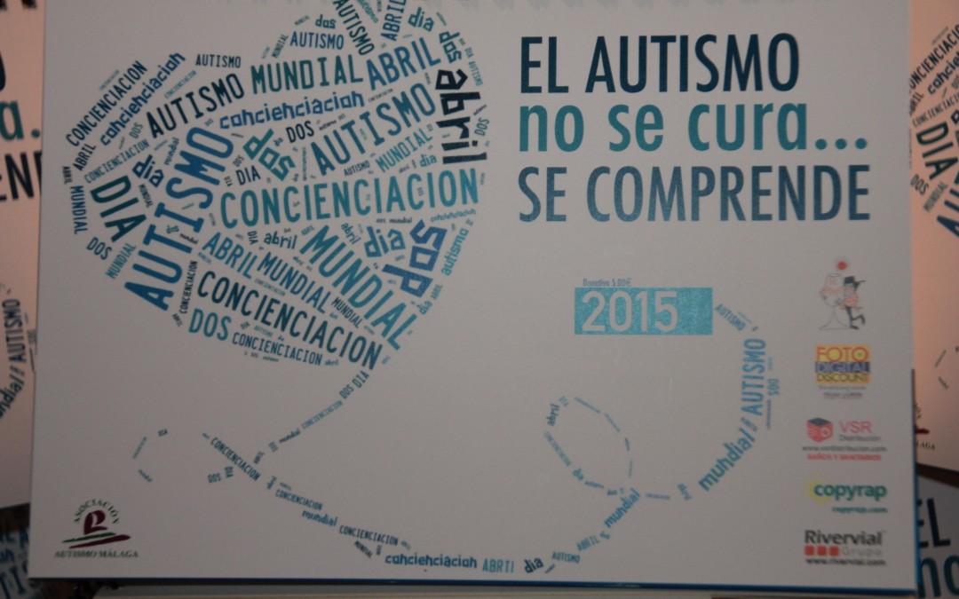 Aquí tenéis vuestro calendario Autismo Málaga 2015