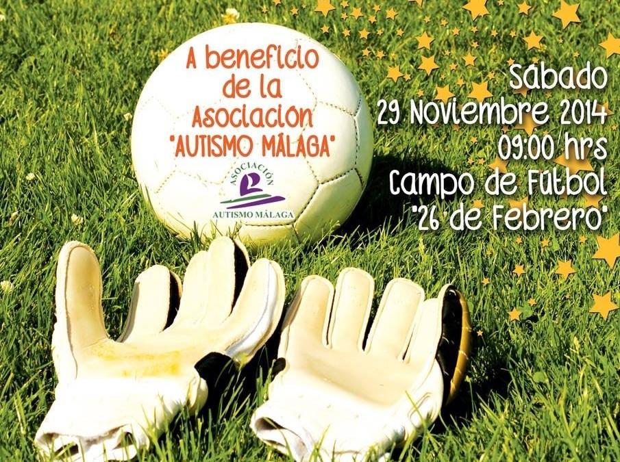 """II Torneo Benéfico """"Por ellos"""" a beneficio de Autismo Málaga."""