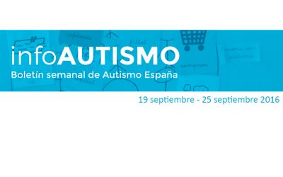 Boletín de la Confederación Autismo España – 19/9/16 al 25/9/16