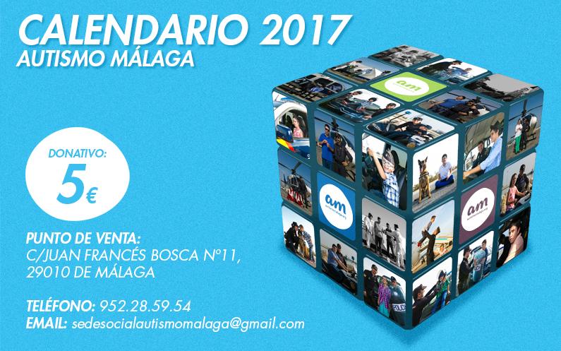 Presentación Calendario 2017 – Autismo Málaga