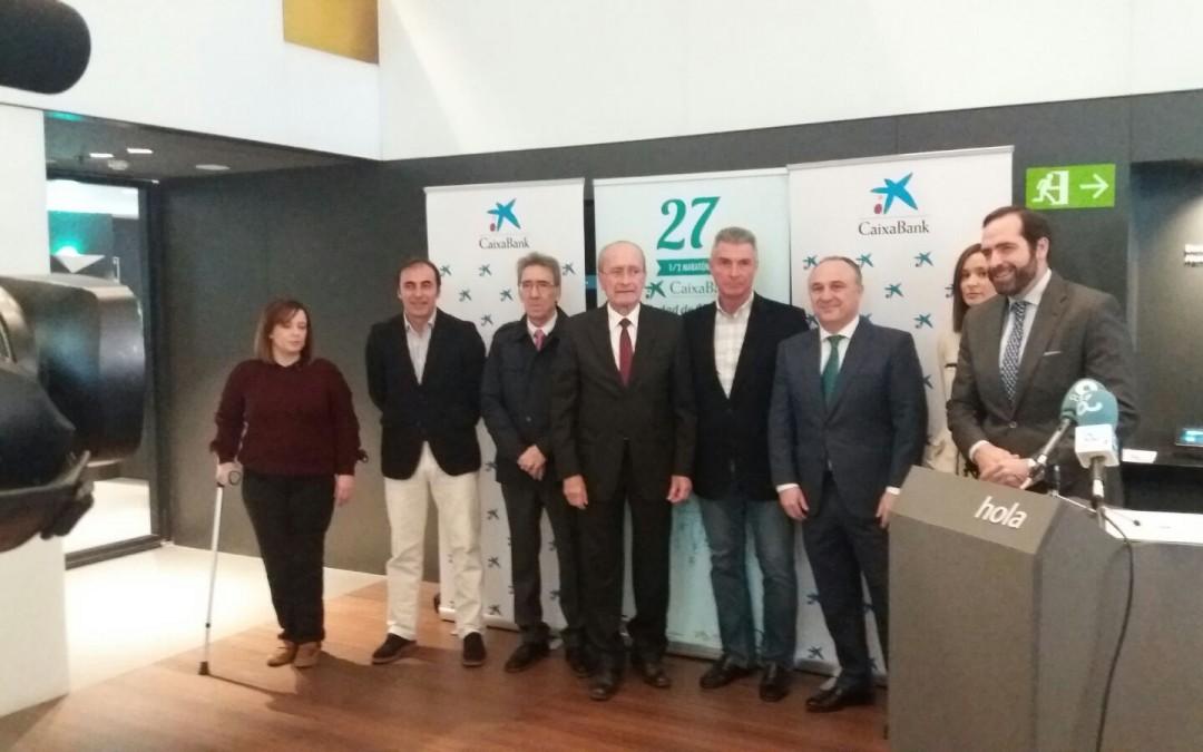Presentación XXVIII Media Maratón CaixaBank Ciudad de Málaga