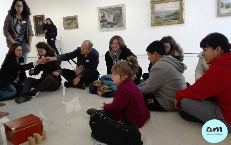 Taller educativo en el Museo Thyssen de Málaga