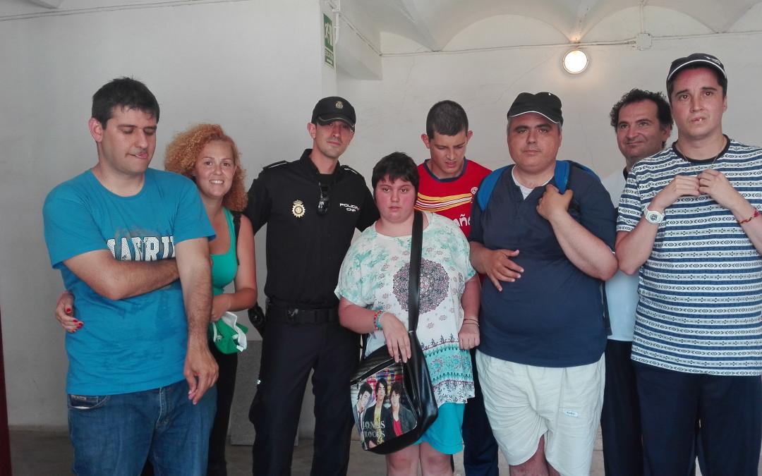 Exhibición Policial – Proyecto Servicio de Apoyo a la Inclusión