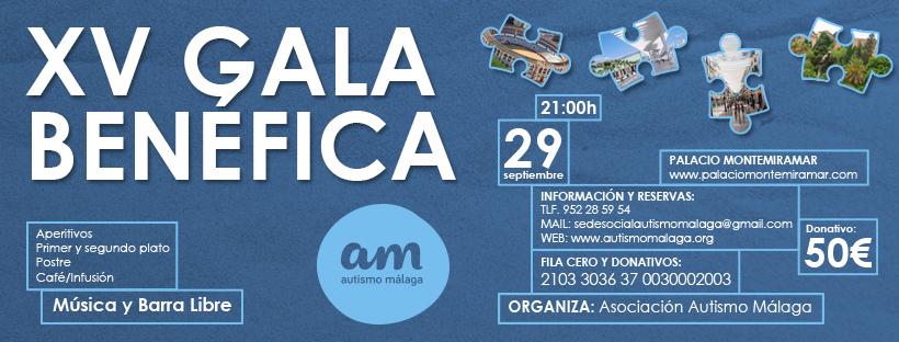 XV Gala Benéfica Autismo Málaga