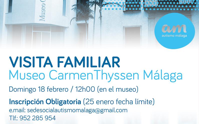 Visita Museo CarmenTyssen Málaga – 18 Febrero