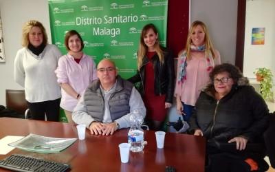 Reunión Grupo de Discapacidad y Accesibilidad Distrito Málaga y Valle del Guadalorce