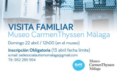 Visita Familiar – Museo Thyssen Málaga 22 abril
