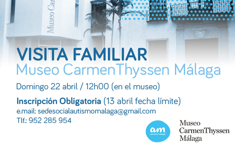 Visita Familiar – Museo Thyssen Málaga 22 abril