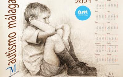 La Diputación colabora con la Asociación Autismo Málaga con la impresión de 800 calendarios 2021 ilustrados por el pintor malagueño Antonio Montiel.