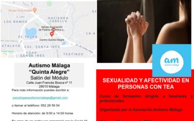 Sexualidad y afectividad en personas con TEA.