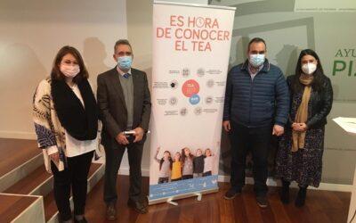 La Diputación vuelve a colaborar con la Asociación Autismo Málaga para desarrollar una campaña de concienciación en Pizarra.